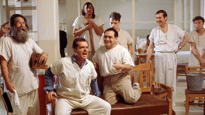 """Catch a screening of Academy Award-winning film """"One Flew Over the Cuckoo's Nest"""" 7 p.m. Friday, March 18, at the Salem Public Library."""