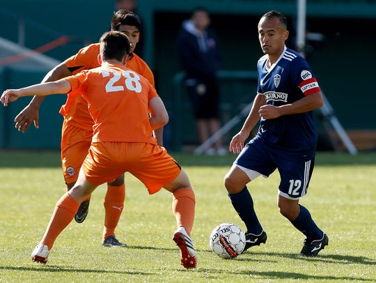 Jose Cuevas is a midfielder for the Fresno Football