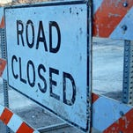 West Mt. Hope Highway is closed between Snow and Sanders roads due to a gas leak, officials said.