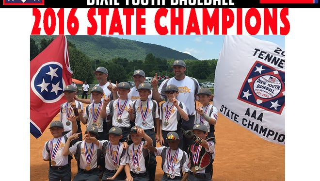 The Fairview 9 & 10 Year Old All Stars are the 2016 Dixie Youth Baseball State Champions.