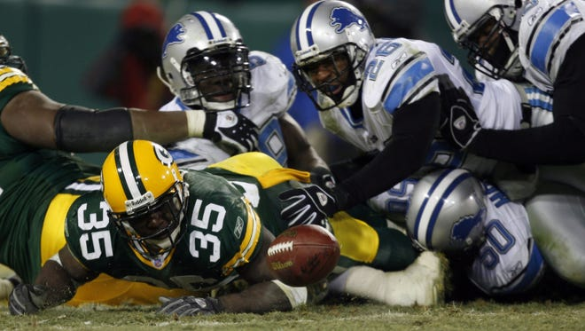 This Samkon Gado forward pass that occurred in end zone accompanied by a offensive holding call somehow was not ruled a safety in Dec. 2005.