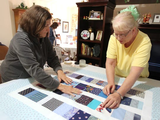 The Coastal Bend Quilt and Needlework Guild will meet