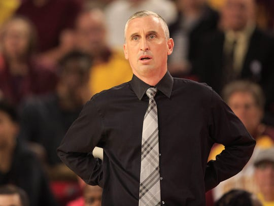 Arizona State coach Bobby Hurley has the Sun Devils