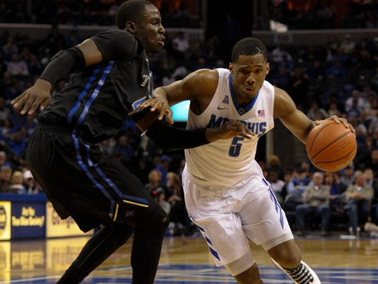 NCAA Basketball: Tulsa at Memphis
