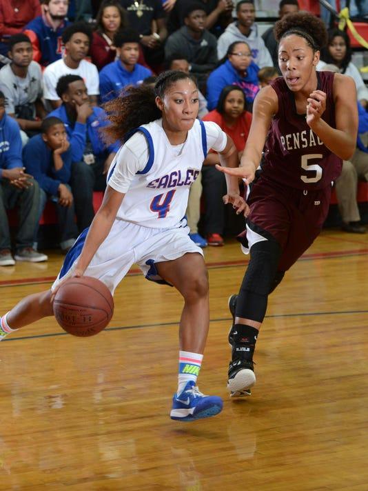 Pine Forest High School girls basketball rallies to beat Pensacola High 62-56