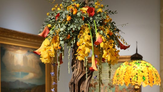 The Art in Bloom exhibit at the Milwaukee Art Museum