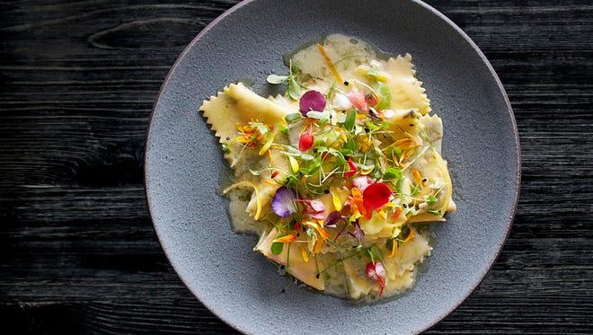 Fazzoletti pasta from Viaggio Ristorante.
