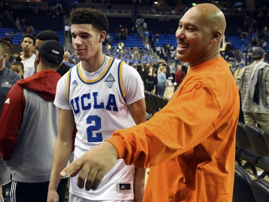 The bombastic boasts of both Lonzo and LaVar Ball have