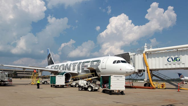 Low-cost carrier Frontier Airlines is offering special one-way fares to Phoenix and Dallas from CVG.