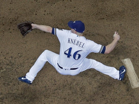 Closer Corey Knebel has been the main star of the Brewers