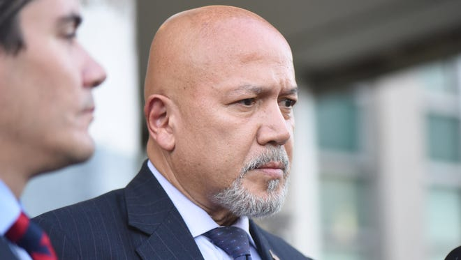 Paterson Mayor Joey Torres pleads guilty to corruption charges on Friday, Sept. 22, 2017.