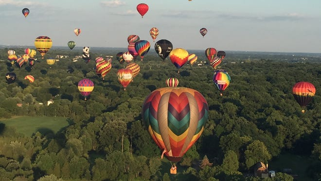 The 34th annual QuickChek New Jersey Festival of Ballooning in association with PNC Bank is July 29-31.