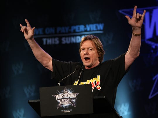 """Former professional wrestler """"Rowdy"""" Roddy Piper died July 31, 2015, reportedly of natural causes, at his home in Hollywood, California."""