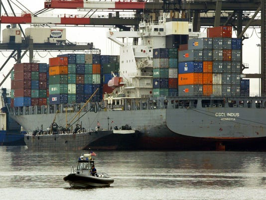Ridge Highlights Efforts To Secure United States Ports During Trip To NJ?