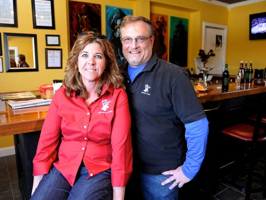 White Buck Vineyards and Winery owners Dr. Allen and
