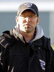 Horseheads boys lacrosse head coach Peter Cook.