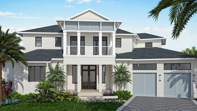 Kjims Homes is building the Bristol model at 424 River Court on Marco Island.