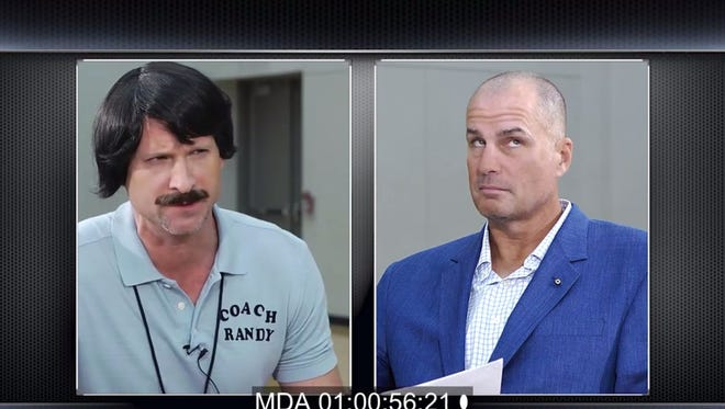 """The Ole Miss basketball program continued its Randy Kennedy marketing push by having the """"youth league basketball coach"""" force his way into an interview with ESPN's Jay Bilas"""