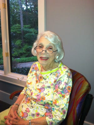 Lillian Fleet Mendelson, who died Dec. 5, 2016, at the age of 97.