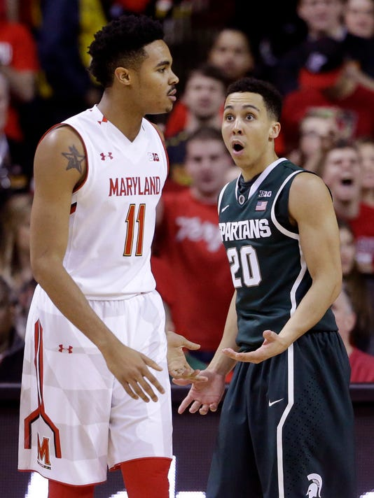 Jared Nickens, Travis Trice