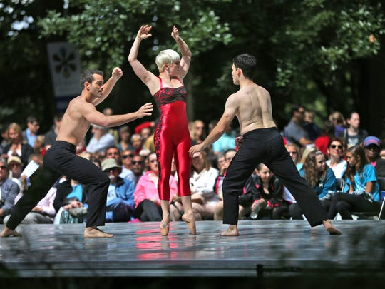 Dance Kaleidoscope dancers perform at the 49th annual Penrod Arts Fair in 2015.