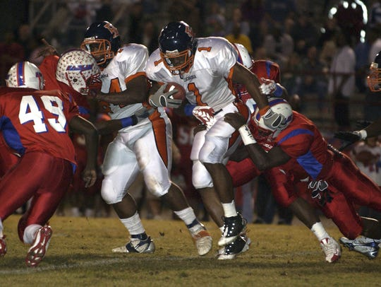 11-7-08, online Pine Forest Eagles host the Escambia