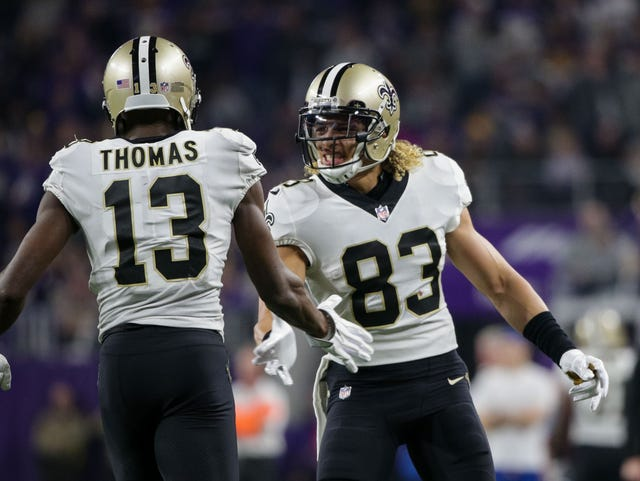 premium selection 0145d 79a1c NFL free agency 2018: Willie Snead moving on from Saints to ...