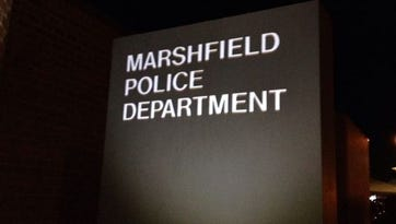 Marshfield public safety: Man screaming, pounding on walls