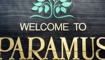 Welcome sign in Paramus.