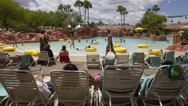 Arizona Grand Resort: $49. Includes Internet, valet parking, four passes to the on-site Oasis Water Park and athletic-club admission.