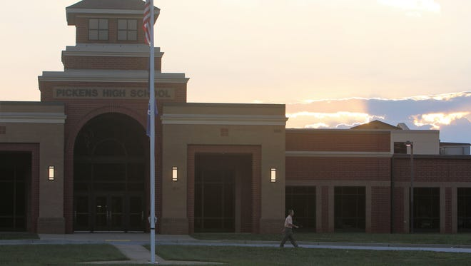 Students will be gathering around flag poles throughout the Upstate on Wednesday morning for a 7 a.m. prayer session, including at Pickens High School.