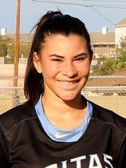 Phoenix Veritas Preparatory Academy junior Aliyah Santiago-Evans.