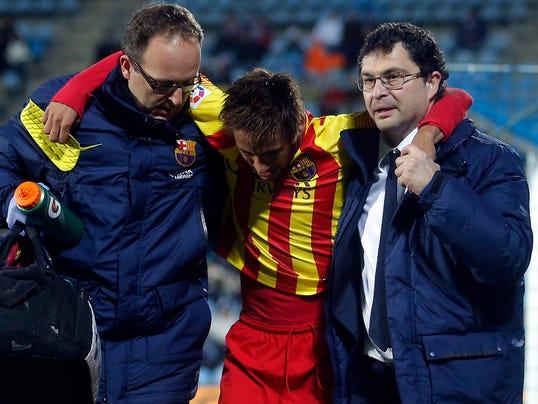 AP Spain Soccer Copa del Rey