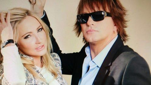 Nikki Lund and Richie Sambora in happier times.