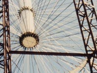 The roof of the Cajundome is pictured in Lafayette, La., Wednesday, Sept. 16, 2015.