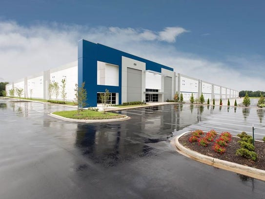 The Under Armour warehouse building Panattoni Development