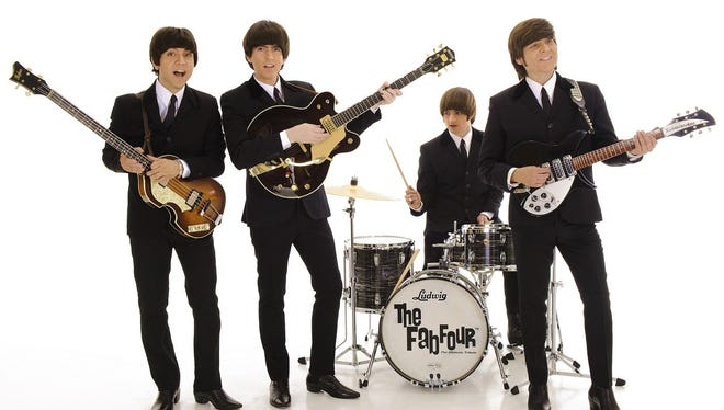 The Fab Four Beatles tribute band will perform Saturday outside of the Spa Resort Casino in Palm Springs.