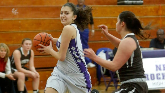 New Rochelle defeats Clarkstown South, 63-60, in girls basketball, Dec. 10, 2014 in New Rochelle.