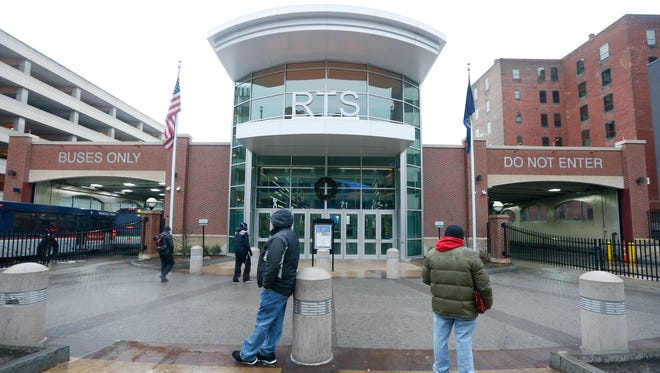 Transit Center in downtown Rochester.