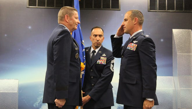 Col. Mark A. Jablow assumed command of the U.S. Air Force Nuclear Command, Control and Communications (NC3) Center on Monday in a ceremony officiated by Gen. Robin Rand, commander of Air Force Global Strike Command.