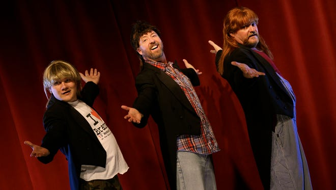 The 3 Redneck Tenors perform at the Rio Grande Theatre on Tuesday.