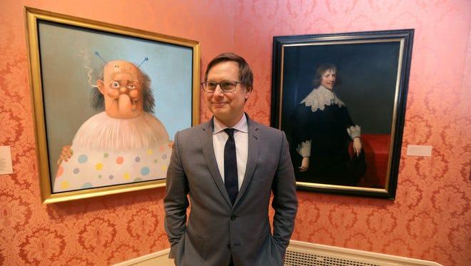 Jonathan P. Binstock is the director of the Memorial Art Gallery.