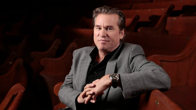 Val Kilmer, pictured in 2014, says he used to be 'too serious' about his career.