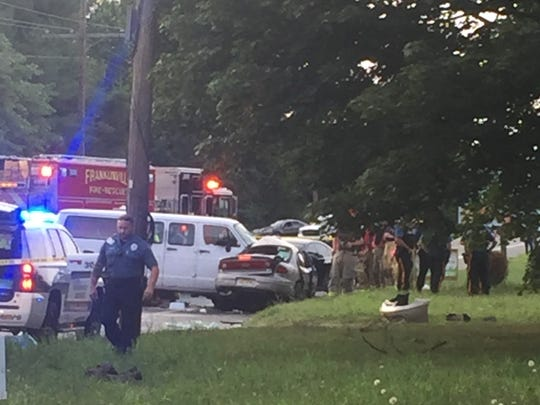Franklin Township Police investigate a fatal crash