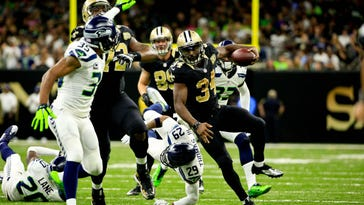Saints show signs of digging out of early season hole