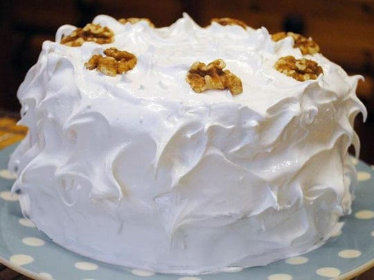 Dean's Devil's Food Cake with Divinity Frosting