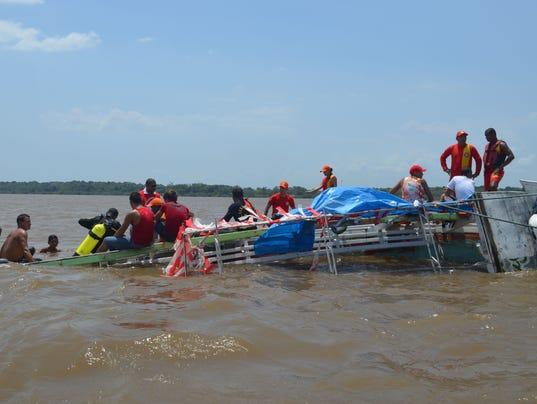 brazil amazon boat capsized