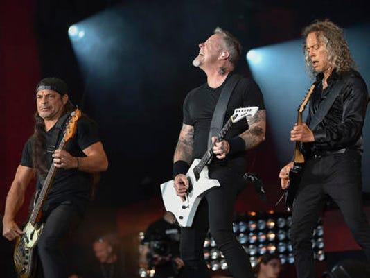 Robert Trujillo, James Hetfield, Kirk Hammett