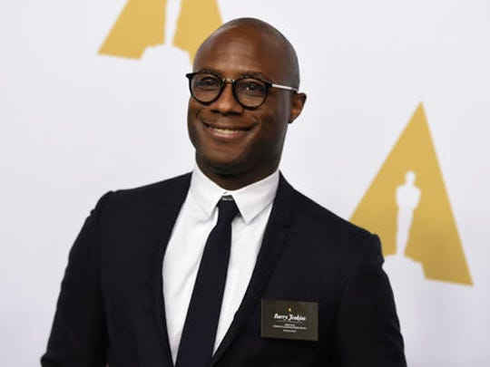 """FILE - In this Feb. 6, 2017 file photo, Barry Jenkins arrives at the 89th Academy Awards Nominees Luncheon at The Beverly Hilton Hotel in Beverly Hills, Calif. With """"Fences,"""" ''Hidden Figures,"""" ''Loving"""" and """"Moonlight"""" in the Oscar mix, #Oscarssowhite may be a thing of the past. Is this a blip or signs of progress? And if there aren't big wins, is it still a win for diversity?"""