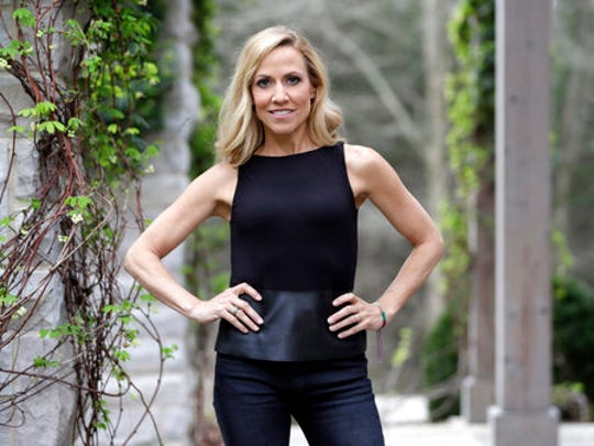 "In this March 21, 2017, photo, Sheryl Crow poses in Nashville, Tenn., to promote her upcoming album, ""Be Myself,"" out April 21."
